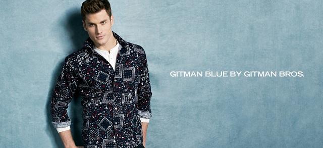 Gitman Blue by Gitman Bros. at MYHABIT