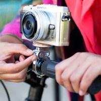 Bikepod: Minoura Camera Mount Holder