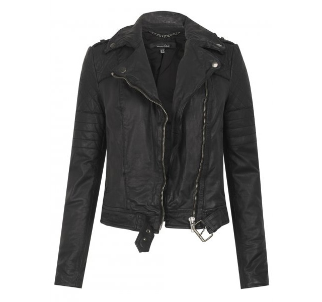 Muubaa Minsk Quilted Leather Biker