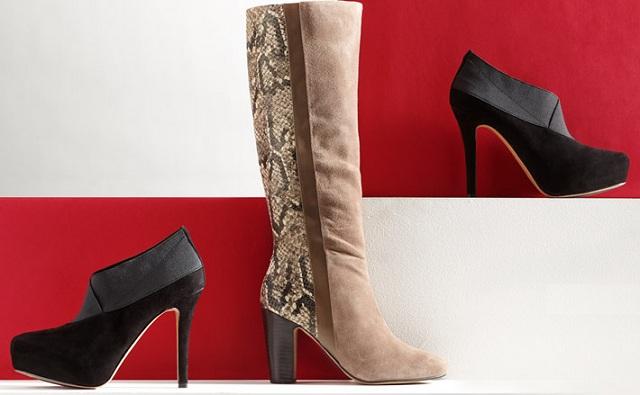 Rosegold Harley High Heel Boots