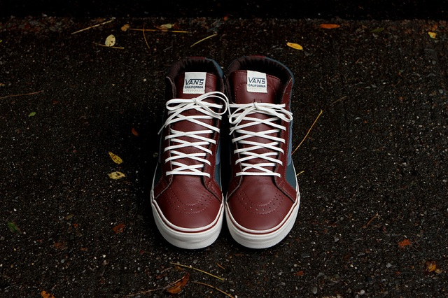 Vans Leather Sk8-Hi Reissue CA