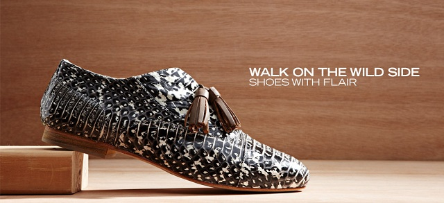Walk on the Wild Side: Shoes with Flair at MYHABIT