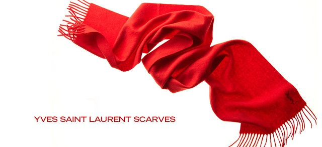 Yves Saint Laurent Scarves at MYHABIT