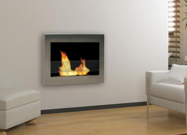 Anywhere Fireplace SoHo Wall Mount Ethanol Fireplace