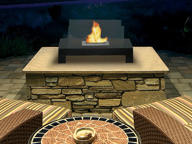 Anywhere Fireplaces Gramercy Floor Standing Ethanol Fireplace