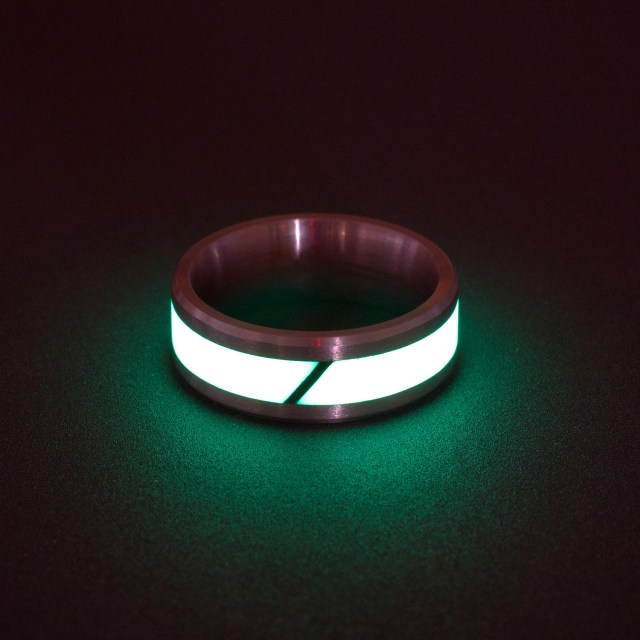 Black Badger Isotope Titanium Lume Ring_1