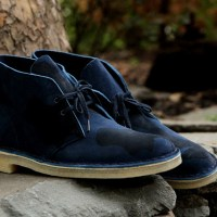 Clarks Desert Boot - Navy Camo