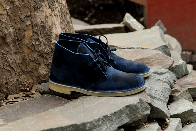 Clarks Desert Boot - Navy Camo_3