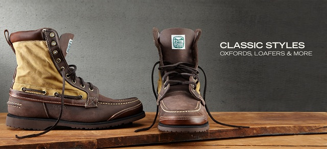 Classic Styles: Oxfords, Loafers & More at MYHABIT