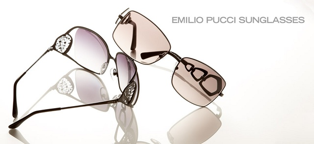 Emilio Pucci Sunglasses at MYHABIT