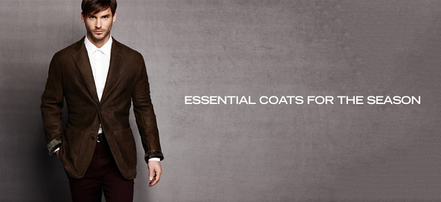 Essential Coats for the Season at MYHABIT