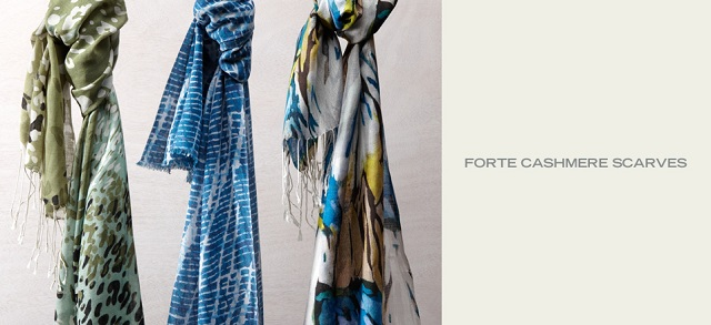 Forte Cashmere Scarves at MYHABIT