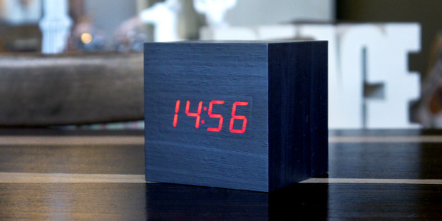 Gingko eco-friendly Innovative LED Alarm Clocks