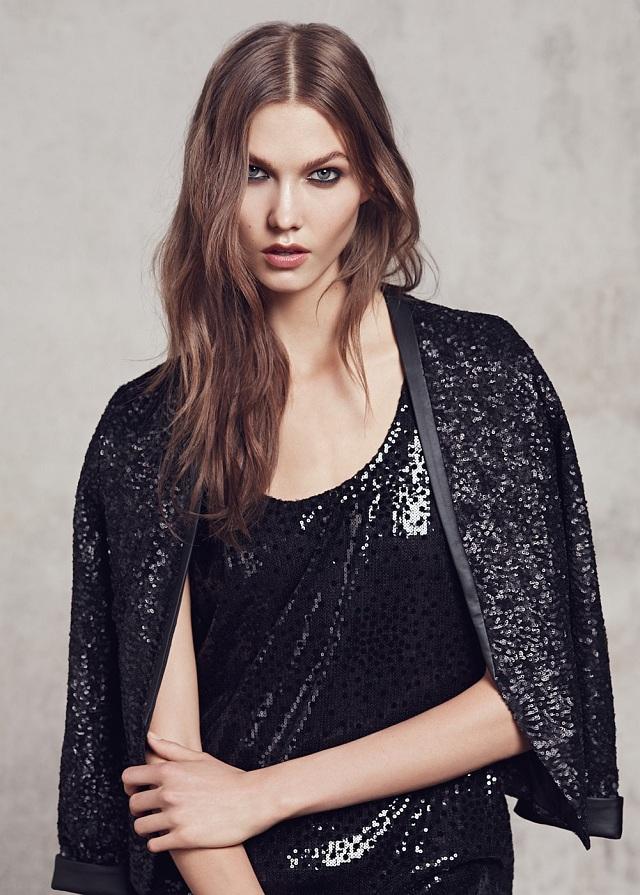 MANGO Women's Sequins Jacket - Sek