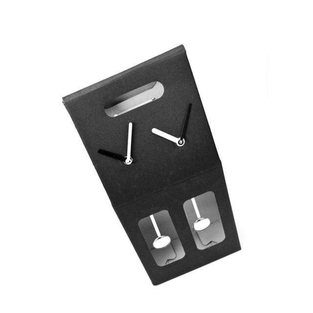 Mykonos Clock Box Dual Time Black_2