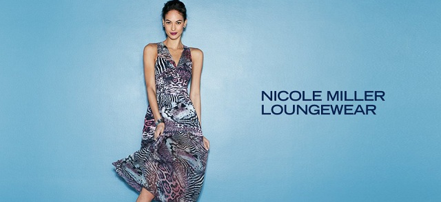 Nicole Miller Loungewear at MYHABIT
