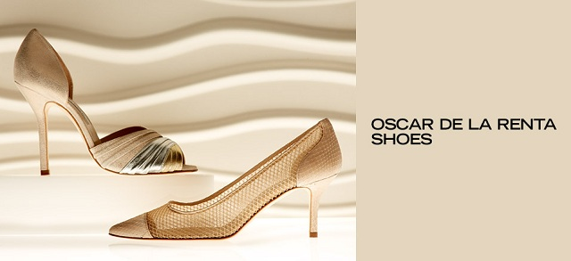 Oscar de la Renta Shoes at MYHABIT