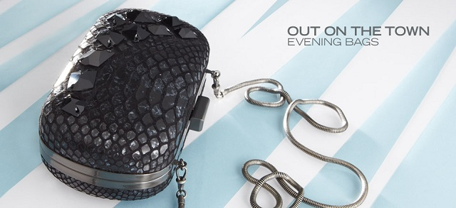 Out on the Town: Evening Bags at MYHABIT