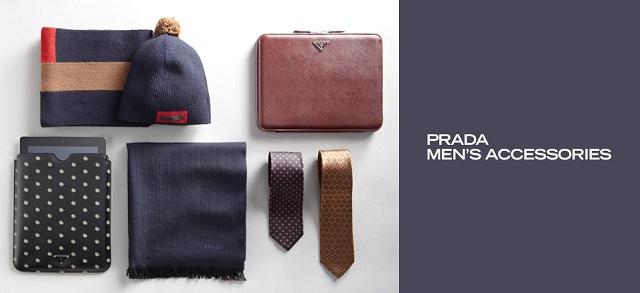 Prada Men's Accessories at MYHABIT