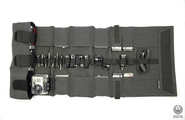 Riseful RollPro III GoPro Organizer Carrying Case