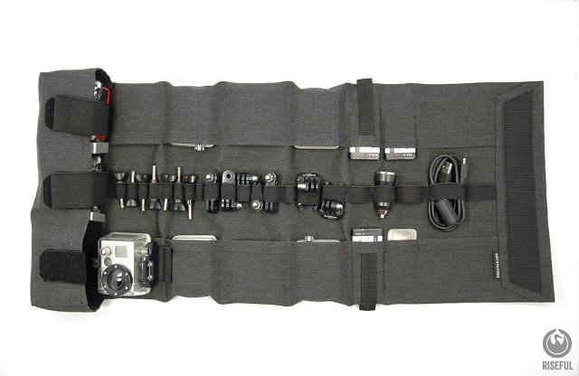 Riseful RollPro III GoPro Organizer Carrying Case