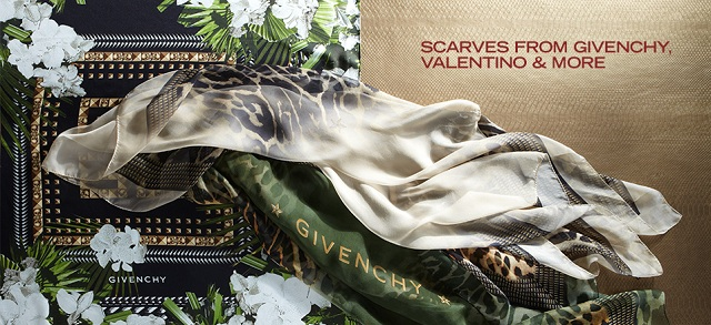 Scarves from Givenchy, Valentino & More at MYHABIT