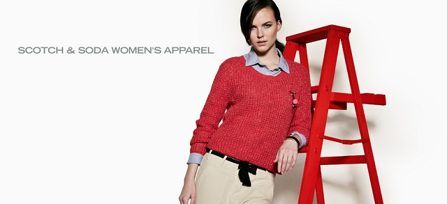 Scotch & Soda Women's Apparel at MYHABIT