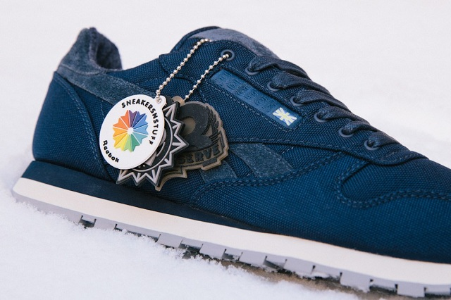 Sneakersnstuff x Reebok 30th Anniversary Classic Leather 3 68de8ae44