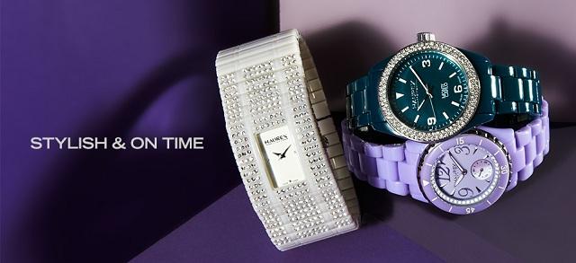 Stylish & On Time at MYHABIT