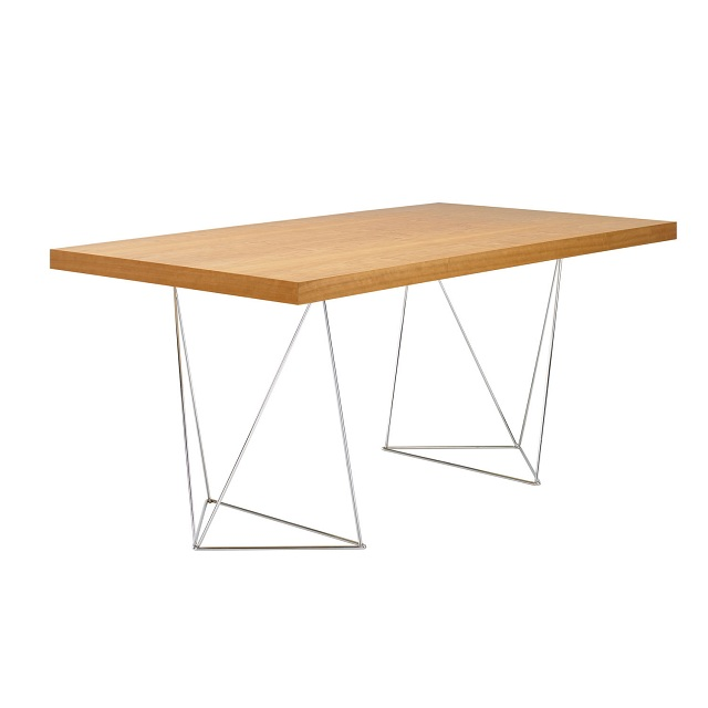 TemaHome Multi Trestles Dining Table
