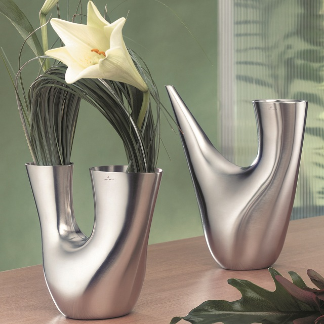 WMF Tabletop Auerhahn Bocina Watering Can and Bocina Vase