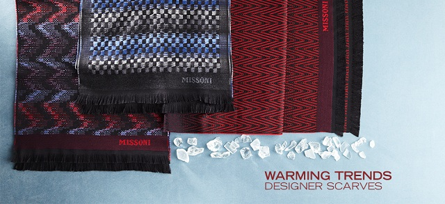 Warming Trends: Designer Scarves at MYHABIT