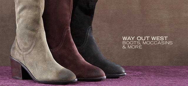 Way Out West: Boots, Moccasins & More at MYHABIT