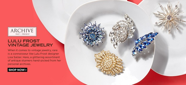 ARCHIVE: Lulu Frost Vintage Jewelry at MYHABIT