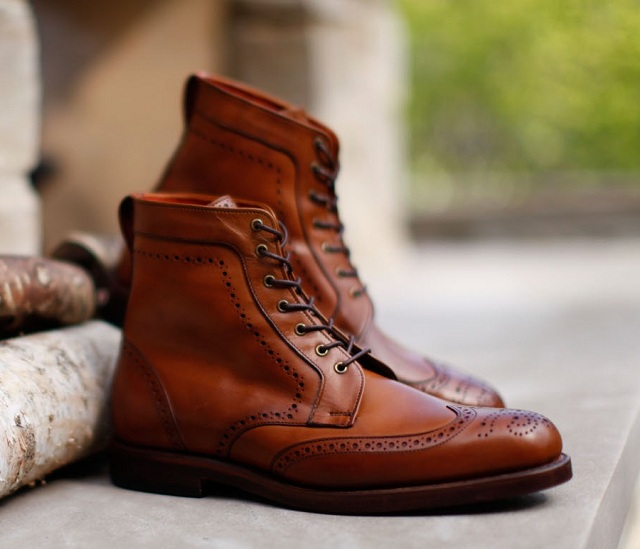 Allen Edmonds Dalton Lace-Up Boot