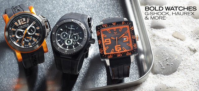 Bold Watches: G-Shock, Haurex & More at MYHABIT