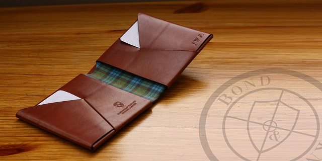 Bond & Knight British Leather Wallets