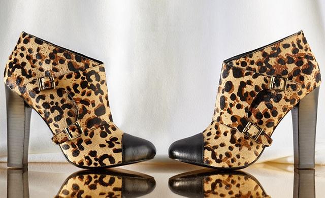 Candela Women's Leopard Buckle Boot