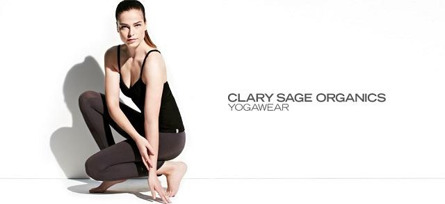 Clary Sage Organics: Yogawear at MYHABIT