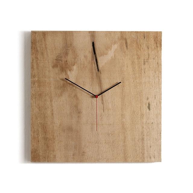 Diamantini & Domeniconi Nature Crude Wood Clock