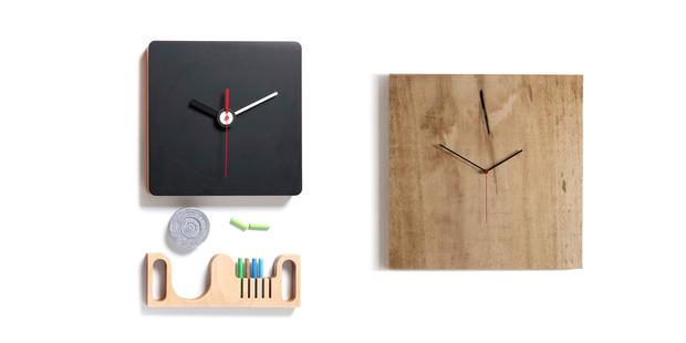Diamantini & Domeniconi Tongue-in-Cheek Clocks