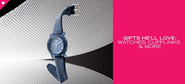 Gifts He'll Love: Watches, Cufflinks & More at MYHABIT