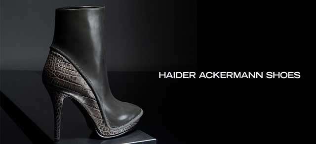 Haider Ackermann Shoes at MYHABIT