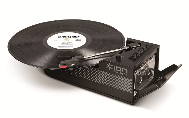 Ion Duo Deck Ultra-Portable USB Turntable with Cassette Deck_2