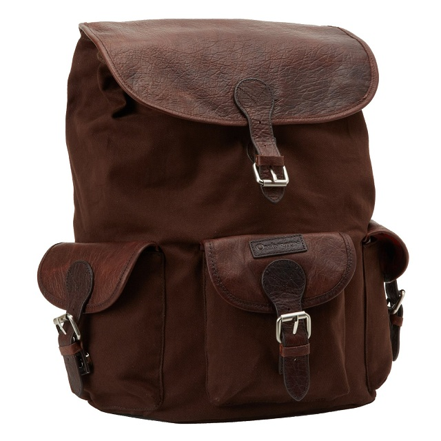 Ossington American Bison Leather - Ellis Backpack_1