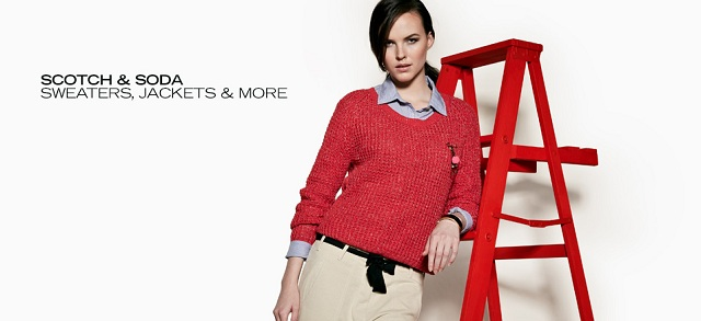 Scotch & Soda: Sweaters, Jackets & More at MYHABIT
