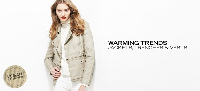 Warming Trends: Jackets, Trenches & Vests at MYHABIT
