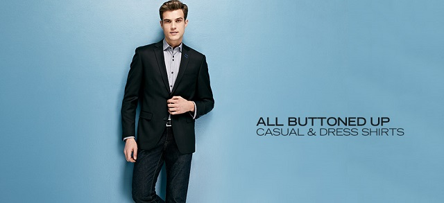 All Buttoned Up: Casual & Dress Shirts at MYHABIT