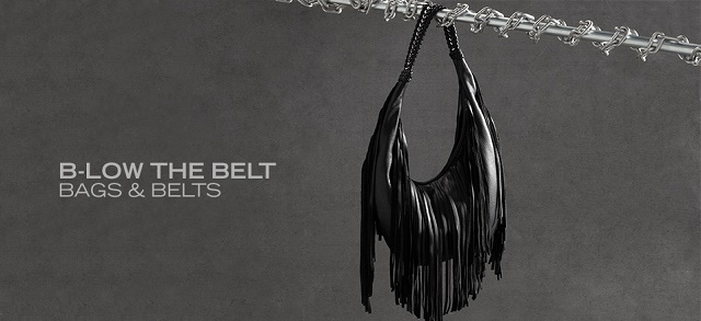 B-Low the Belt: Bags & Belts at MYHABIT