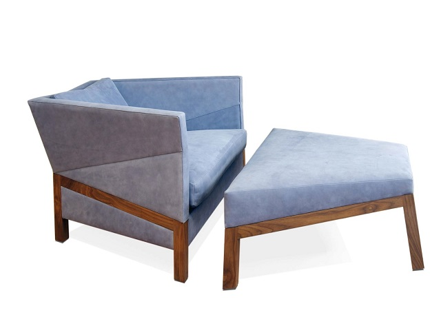 Bias Lounge Chair & Ottoman by Purcell Living_4